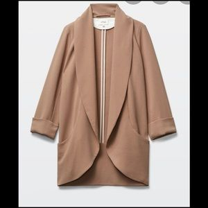 Wilfred chevalier jacket sz 2 in dark camel